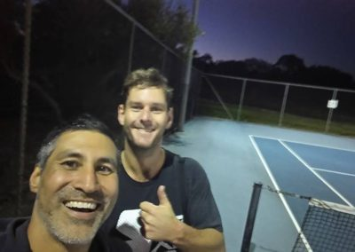 Stephen and Luke, Perth North Tennis League