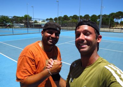 Rahul and Daniel, Perth South Tennis League