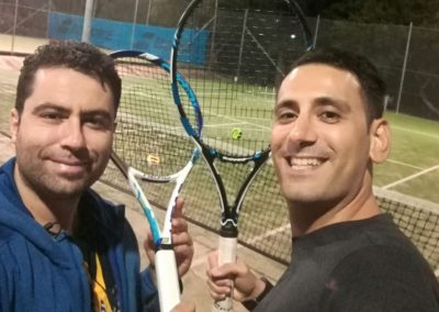 Nick and Tass, Sydney Inner West Tennis League
