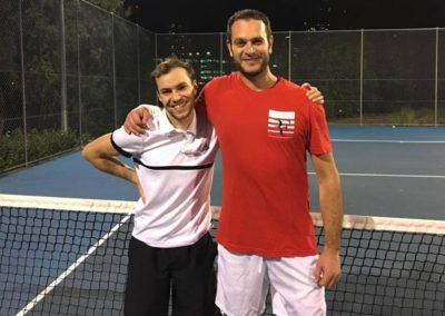 Stefan and Gianvito, Sydney Central Tennis League
