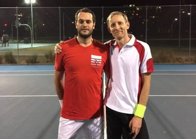Gianvito and Stefan, Sydney Central Tennis League