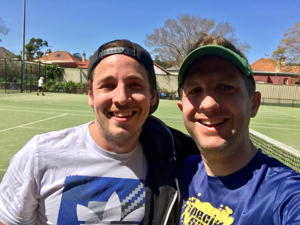 Jamie and Ryan, Sydney Inner West Tennis League