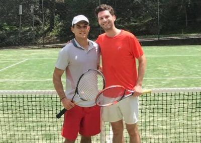 Joe and Dennis, Sydney Eastern Suburbs Tennis League