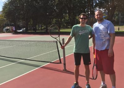 Damien and Alex, Sydney Central Tennis League