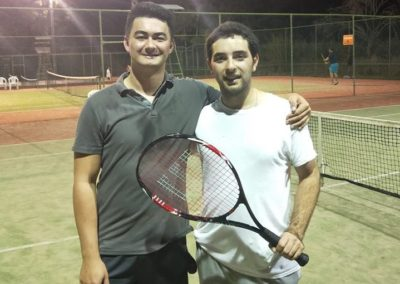 Henrique and Carl, Brisbane Tennis League